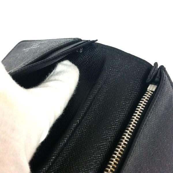 LOUIS VUITTON/ルイヴィトン 2つ折り 財布 ポルトフォイユ ブラザ N62665 ダミエ・グラフィット シリアルの場所(寄りの画像)