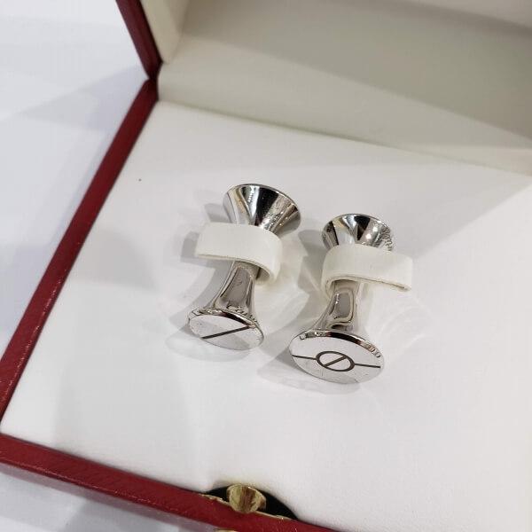 Cartier/カルティエ 小物 サントス シルバーカフス - サントス 側面の写真