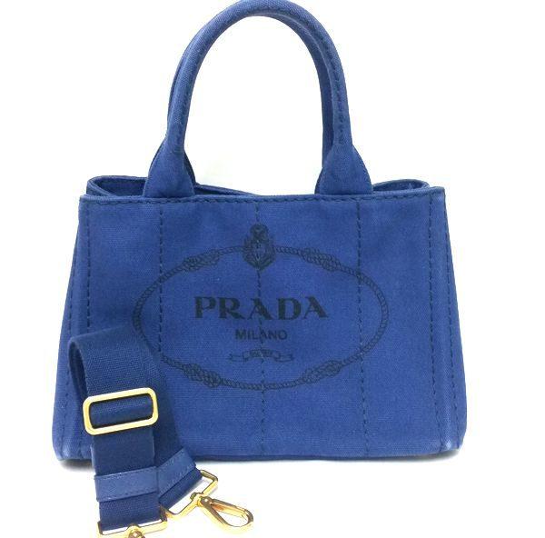 PRADA/プラダ 袈裟掛けトートバッグ ミニカナパ B2439G  全体の写真