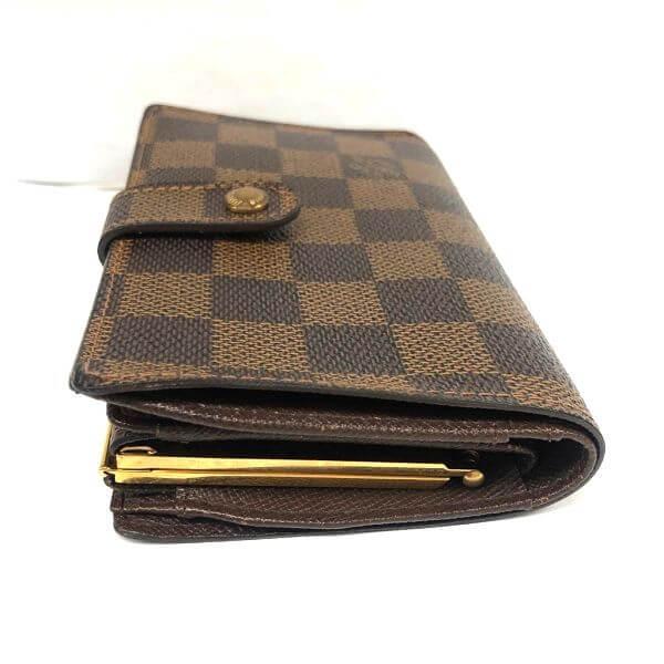 LOUIS VUITTON/ルイヴィトン がま口 財布 ポルトフォイユ・ヴィエノワ N61664 モノグラム 裏側の写真