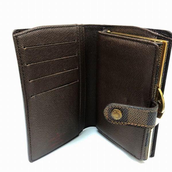 LOUIS VUITTON/ルイヴィトン がま口 財布 ポルトフォイユ・ヴィエノワ N61664 モノグラム 中身または上からの写真