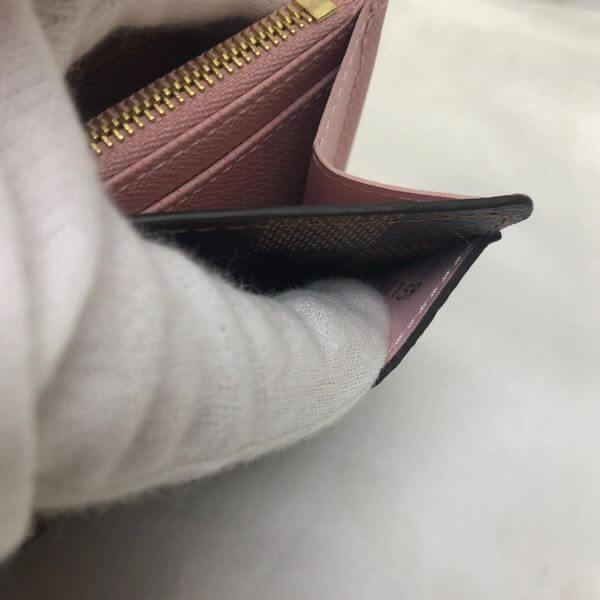 LOUIS VUITTON/ルイヴィトン 2つ折り 財布 ポルトフォイユ サラ N60114 ダミエ シリアルの場所(寄りの画像)