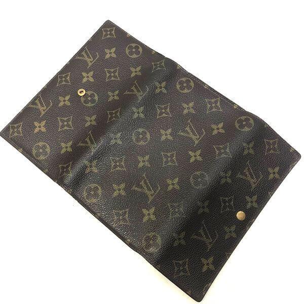 LOUIS VUITTON/ルイヴィトン 3つ折り 財布 ポルトフォイユ インターナショナル M61217 モノグラム 中身または上からの写真