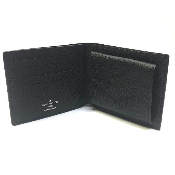 LOUIS VUITTON/ルイヴィトン 2つ折り 財布 マルコ N63336 ダミエグラフィット 裏側の写真