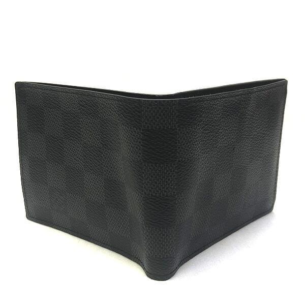 LOUIS VUITTON/ルイヴィトン 2つ折り 財布 マルコ N63336 ダミエグラフィット 中身または上からの写真