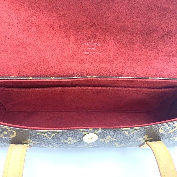 LOUIS VUITTON/ルイヴィトン ハンドバッグ ソナチネ M44496 モノグラム 中身または上からの写真