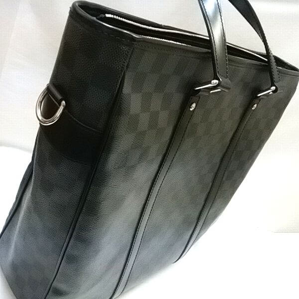 LOUIS VUITTON/ルイヴィトン 2wayバッグ タダオ N51192 ダミエ グラフィット 側面の写真