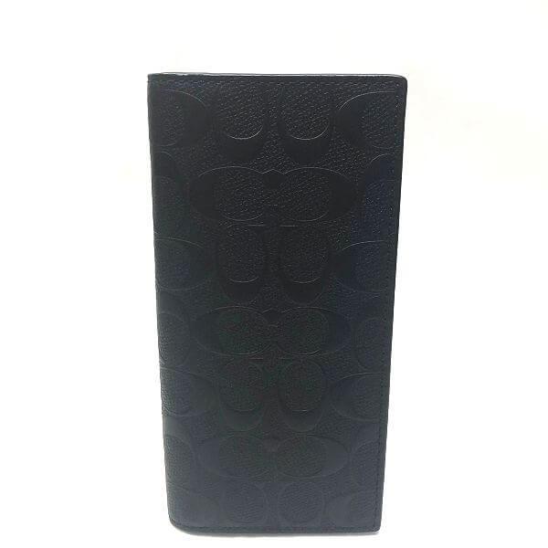 COACH/コーチ 2つ折り 財布 二つ折り長財布 F75365 シグネチャ 全体の写真