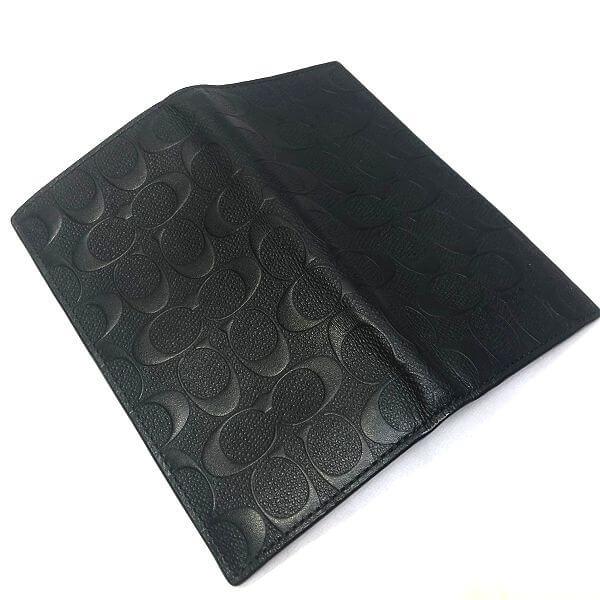 COACH/コーチ 2つ折り 財布 二つ折り長財布 F75365 シグネチャ 裏側の写真
