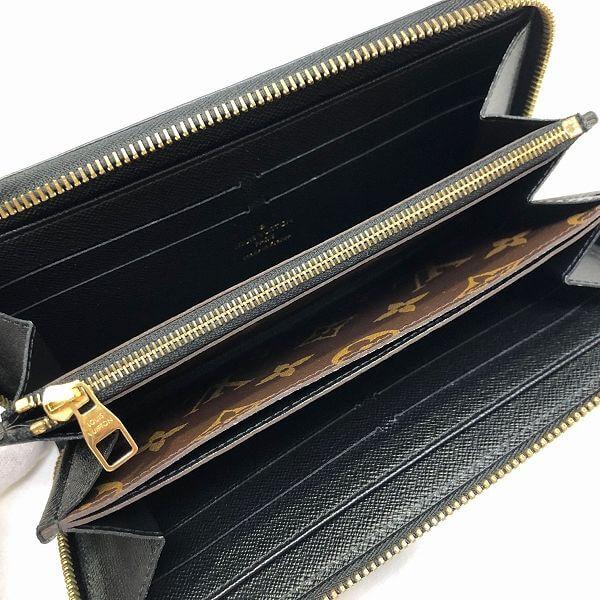 LOUIS VUITTON/ルイヴィトン ラウンドファスナー 財布 ジッピーウォレット・レティーロ M61855 モノグラム 中身または上からの写真