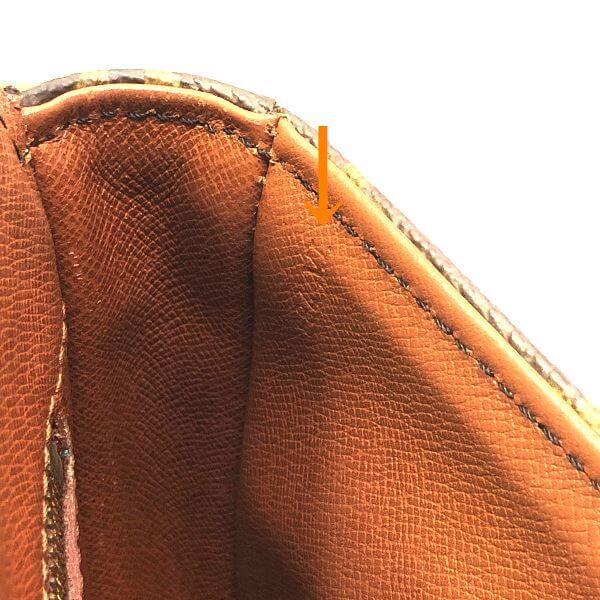 LOUIS VUITTON/ルイヴィトン 袈裟がけショルダーバッグ シャンティMM  M51233 モノグラム シリアルの場所(寄りの画像)