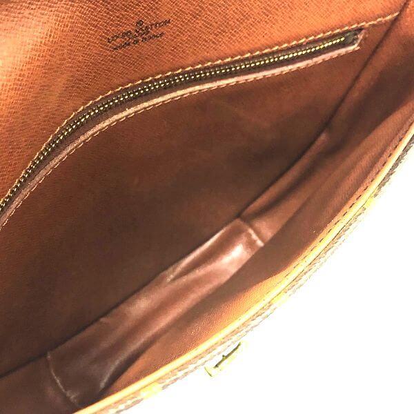 LOUIS VUITTON/ルイヴィトン 袈裟がけショルダーバッグ シャンティMM  M51233 モノグラム 中身または上からの写真