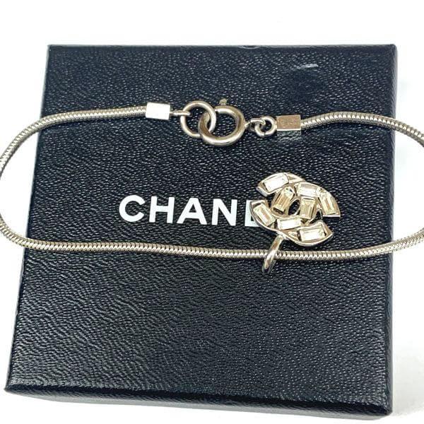 CHANEL/シャネル ブレスレット・バングル ラインストーン ココマーク ブレスレット -  全体の写真