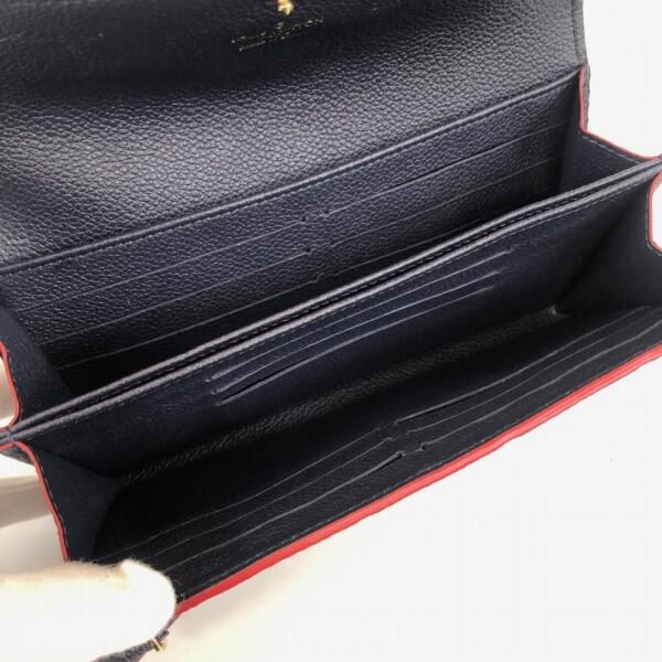 LOUIS VUITTON/ルイヴィトン ラウンドファスナー 財布 ポルトフォイユ ボンヌフ CA5105 モノグラム アンプラント 中身または上からの写真