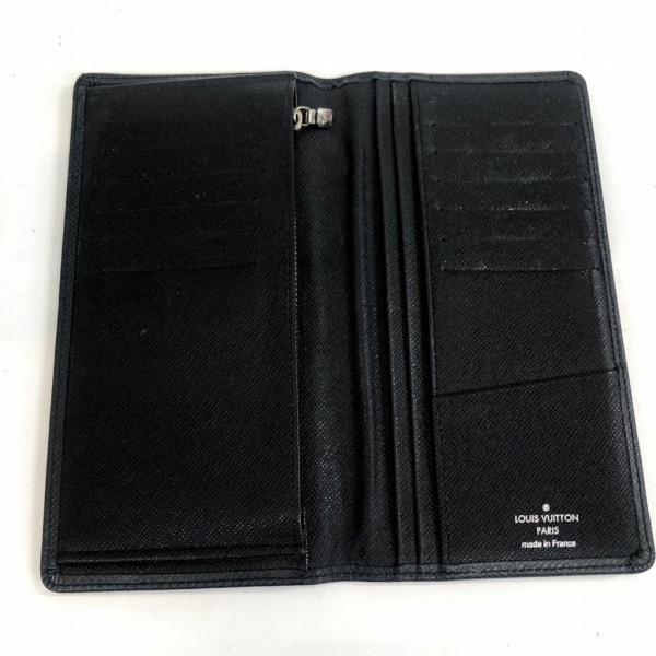 LOUIS VUITTON/ルイヴィトン 長財布 ポルトフォイユ ブラザ M32572 タイガ 中身または上からの写真
