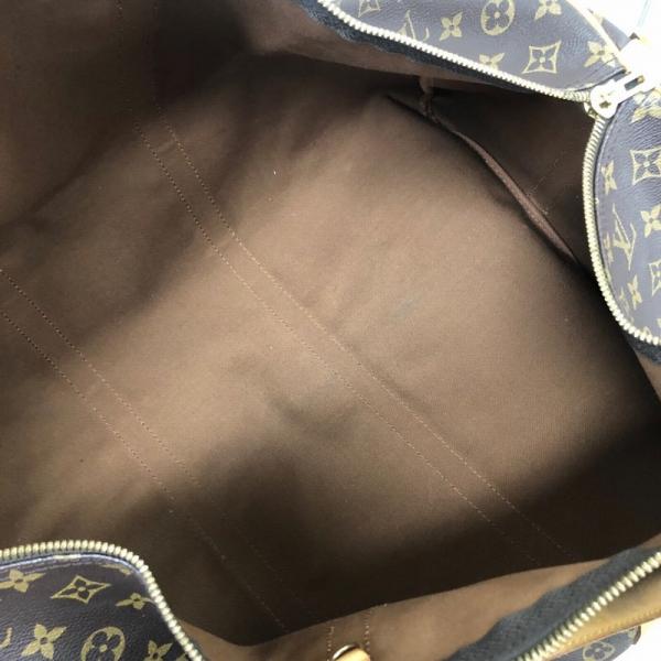LOUIS VUITTON/ルイヴィトン ボストンバッグ キーボルバンドリエール60 M41412 モノグラム 中身または上からの写真