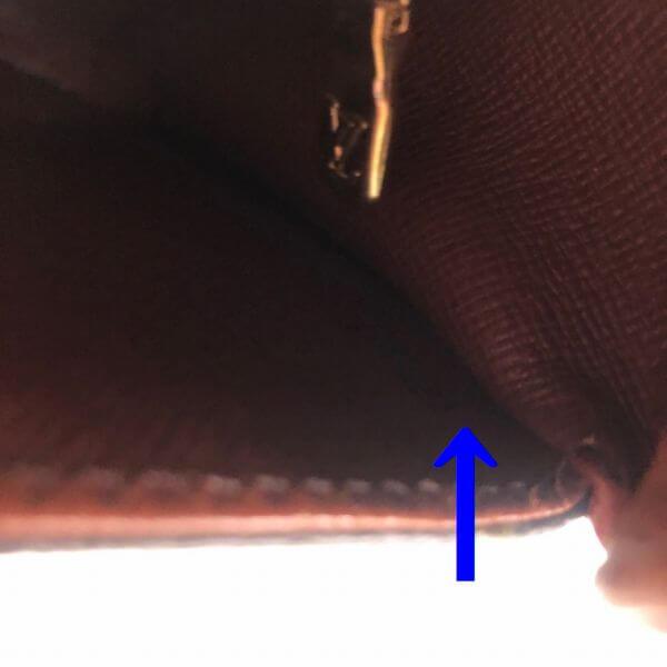 LOUIS VUITTON/ルイヴィトン 袈裟がけショルダーバッグ サンクルー M51242 モノグラム シリアルの場所(寄りの画像)