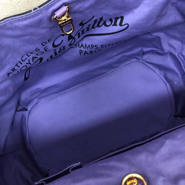 LOUIS VUITTON/ルイヴィトン ハンドトートバッグ ガバ イパネマPM M95983 ビーチライン 中身または上からの写真