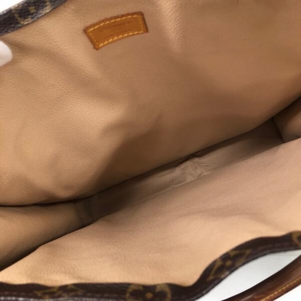 LOUIS VUITTON/ルイヴィトン ハンドバッグ サックプラ M51140 モノグラム 中身または上からの写真