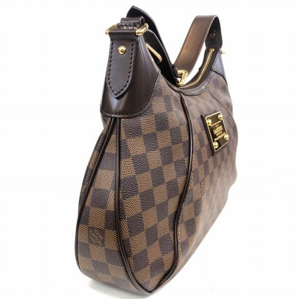 LOUIS VUITTON/ルイヴィトン ショルダーバッグ テムズGM N48181 ダミエ 側面の写真