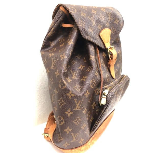 LOUIS VUITTON/ルイヴィトン リュックサック・バックパック モンスリGM M51135 モノグラム 側面の写真