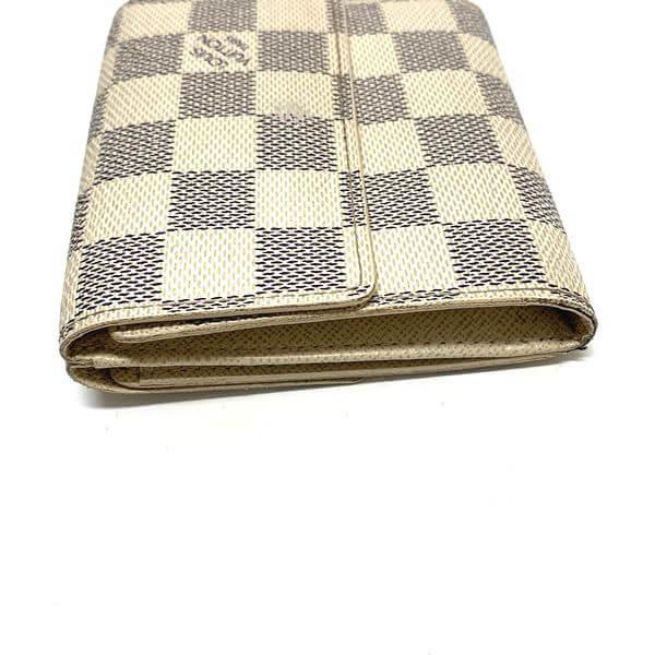 LOUIS VUITTON/ルイヴィトン 2つ折り 財布 ポルトフォイユ・エリーズ N61733 ダミエ 裏側の写真