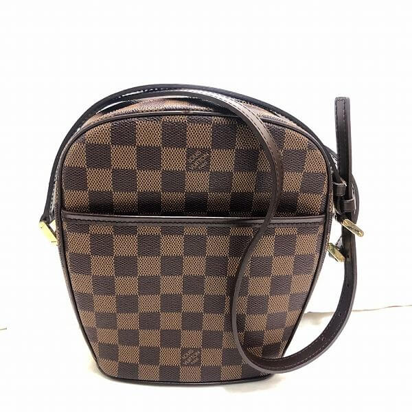 LOUIS VUITTON/ルイヴィトン ショルダーバッグ イパネマ PM N51294 ダミエ・エベヌ 全体の写真