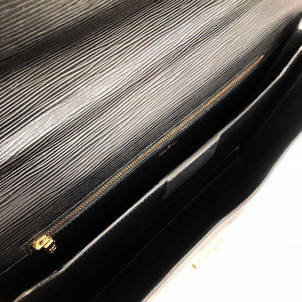 LOUIS VUITTON/ルイヴィトン ビジネスバッグ・ブリーフケース セルヴィット コンセイエ M54422 エピ 中身または上からの写真