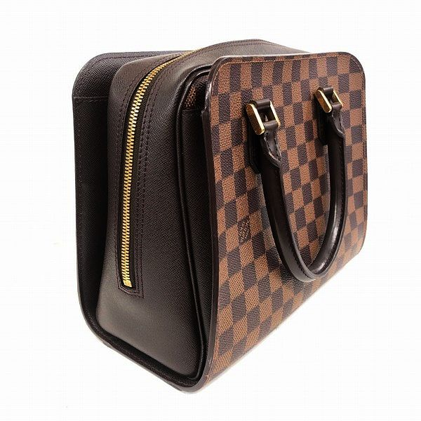 LOUIS VUITTON/ルイヴィトン ボストンバッグ トリアナ N51155 ダミエ 側面の写真