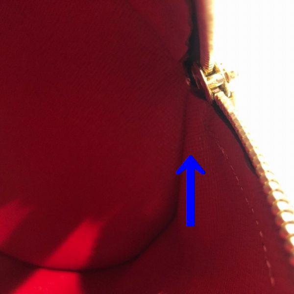 LOUIS VUITTON/ルイヴィトン ハンドバッグ パピヨン GM(パピヨン30) N51303 ダミエ シリアルの場所(寄りの画像)