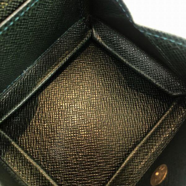 LOUIS VUITTON/ルイヴィトン コインケース ポルトモネ ポワット M30384 タイガ 中身または上からの写真