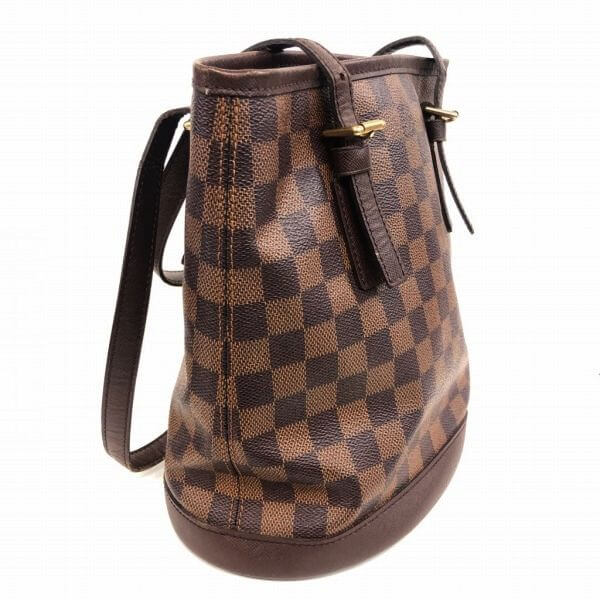 LOUIS VUITTON/ルイヴィトン ハンドトートバッグ マレ N42240 ダミエ 側面の写真