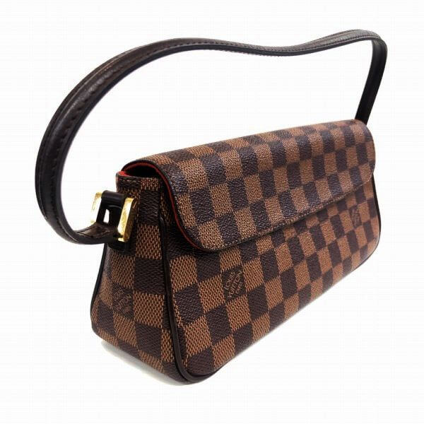 LOUIS VUITTON/ルイヴィトン ハンドバッグ レコレーター N51299 ダミエ 側面の写真