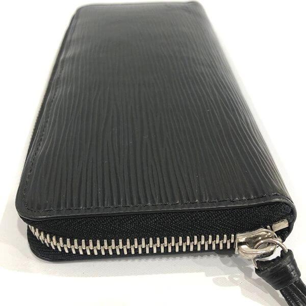 LOUIS VUITTON/ルイヴィトン ラウンドファスナー 財布 ポルトフォイユ・クレマンス M60915 エピ 裏側の写真