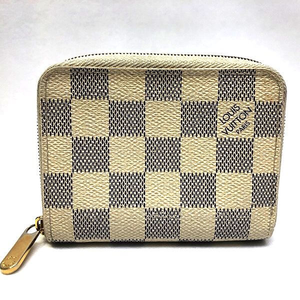 LOUIS VUITTON/ルイヴィトン コインケース ジッピー コインパース N63069 ダミエ アズール 全体の写真