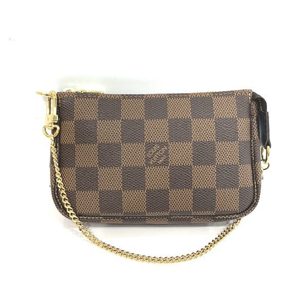 LOUIS VUITTON/ルイヴィトン ポーチ・ポシェット ミニ・ポシェット・アクセソワール N58009 ダミエ 全体の写真