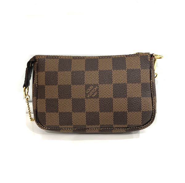 LOUIS VUITTON/ルイヴィトン ポーチ・ポシェット ミニ・ポシェット・アクセソワール N58009 ダミエ 側面の写真