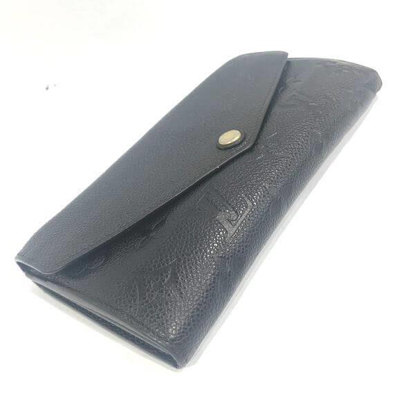 LOUIS VUITTON/ルイヴィトン 2つ折り 財布 ポルトフォイユ・サラ M61182 モノグラム・アンプラント 中身または上からの写真