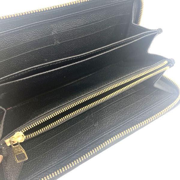 LOUIS VUITTON/ルイヴィトン ラウンドファスナー 財布 ジッピーウォレット M60571 モノグラム・アンプラント 中身または上からの写真