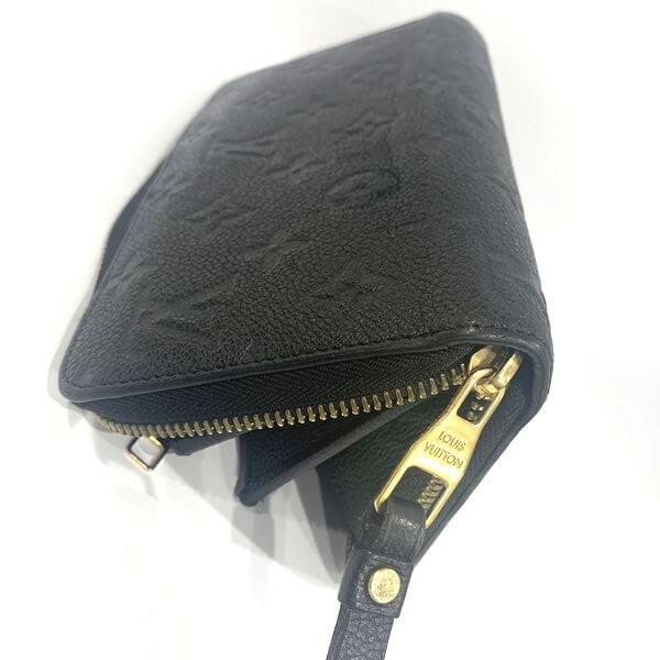 LOUIS VUITTON/ルイヴィトン ラウンドファスナー 財布 ジッピーウォレット M60571 モノグラム・アンプラント 裏側の写真