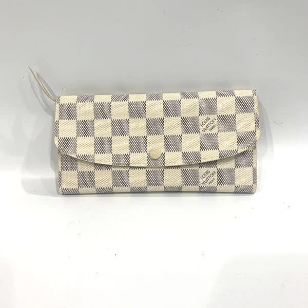 LOUIS VUITTON/ルイヴィトン ホック式 財布 ポルトフォイユ・エミリー N63546 ダミエ 全体の写真