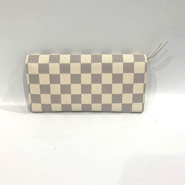 LOUIS VUITTON/ルイヴィトン ホック式 財布 ポルトフォイユ・エミリー N63546 ダミエ 側面の写真