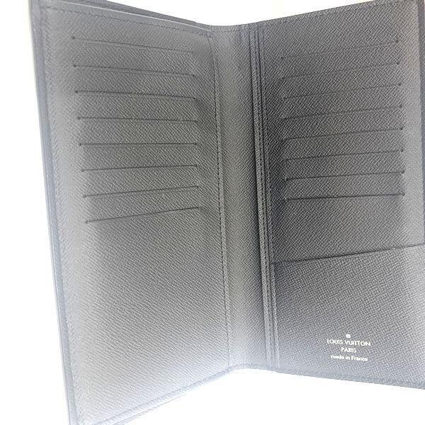 LOUIS VUITTON/ルイヴィトン 2つ折り 財布 ポルトフォイユ・ブラザ M30501 タイガ 中身または上からの写真