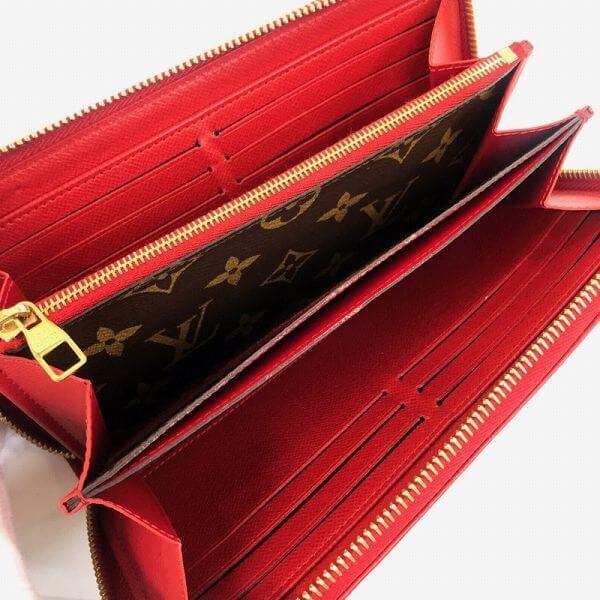LOUIS VUITTON/ルイヴィトン ラウンドファスナー 財布 レティーロ M61187 モノグラム 中身または上からの写真