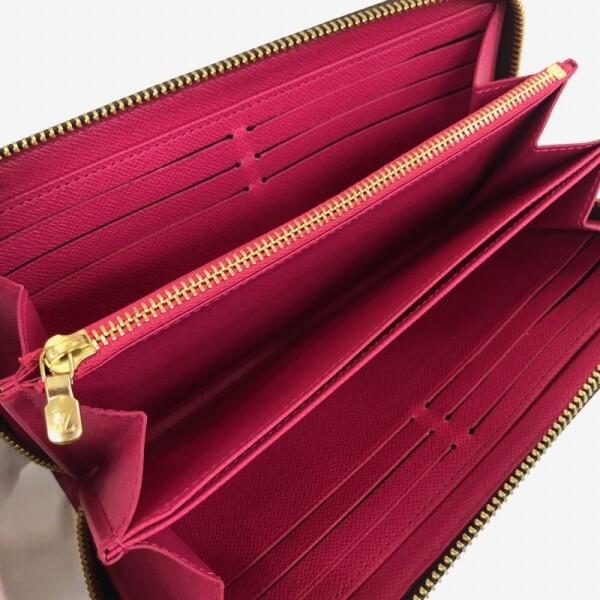 LOUIS VUITTON/ルイヴィトン ラウンドファスナー 財布 ジッピーウォレット ラブロック M64116 モノグラム 中身または上からの写真