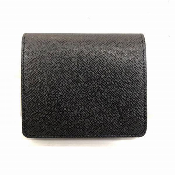 LOUIS VUITTON/ルイヴィトン 2つ折り 財布 ポルトビエ3カルトクレディ M30454 タイガ 全体の写真