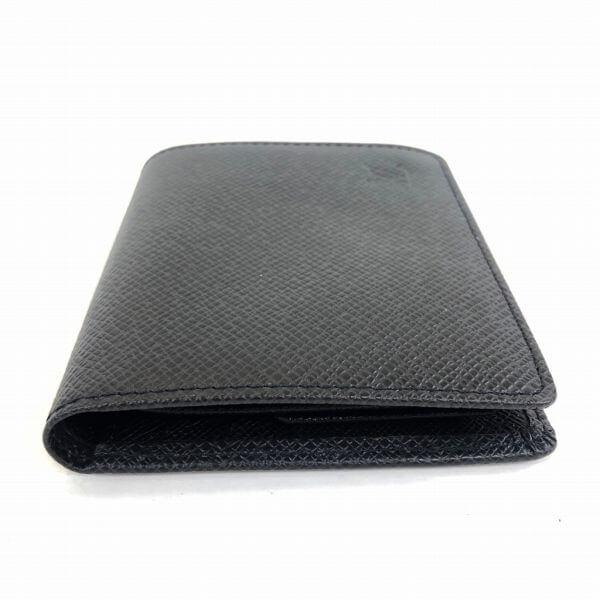 LOUIS VUITTON/ルイヴィトン 2つ折り 財布 ポルトビエ3カルトクレディ M30454 タイガ 側面の写真