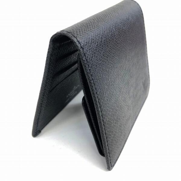 LOUIS VUITTON/ルイヴィトン 2つ折り 財布 ポルトビエ3カルトクレディ M30454 タイガ 裏側の写真