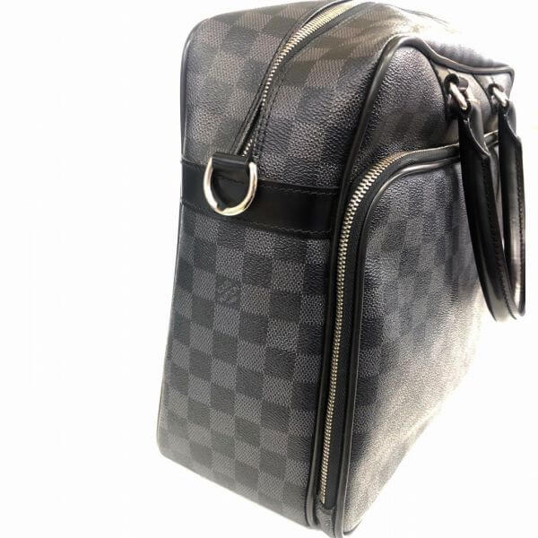 LOUIS VUITTON/ルイヴィトン ビジネスバッグ・ブリーフケース イカール N23253 ダミエ 側面の写真