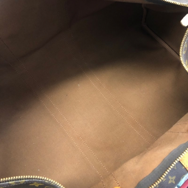 LOUIS VUITTON/ルイヴィトン ボストンバッグ キーポル60 M41422 モノグラム 中身または上からの写真